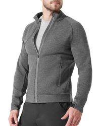 Mpg - Gray Heather Charcoal Academy Jacket for Men - Lyst