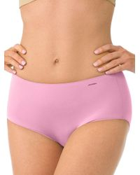 c28a0c015e03 Jockey No Panty Line Promise Tactel Hip Briefs in Pink - Lyst