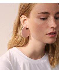 Lou & Grey | Pink Machete Jewelry Claire Earrings In Rose | Lyst