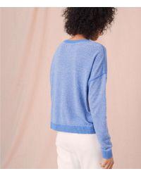 Lou & Grey - Blue Seam Play Sweater - Lyst