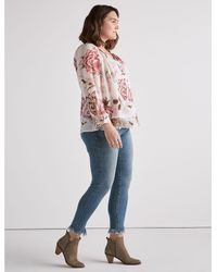 Lucky Brand Multicolor Jenna Peasant