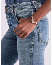 Lucky Brand Blue Leather Bracelet