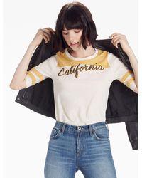 Lucky Brand - Multicolor California Script Tee - Lyst