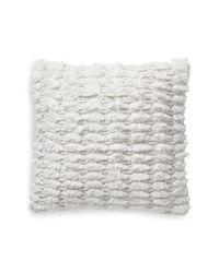 Lucky Brand - Natural 18x18 Shaggy Decorative Pillow - Lyst