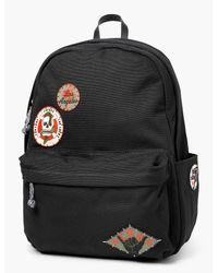 Lucky Brand Black Patch Men's Backpack for men