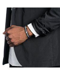 Lulu Frost - Black George Frost Stretch Morse Bracelet - Love for Men - Lyst