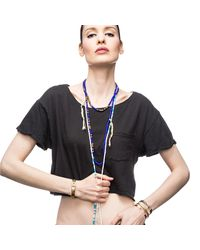 Lulu Frost | Blue George Frost G. Frost Divide And Conquer Morse Necklace | Lyst