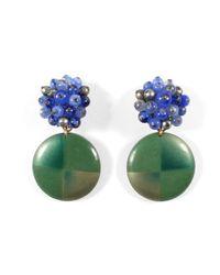 Lulu Frost | Green *vintage* 100 Year Earring #13 | Lyst