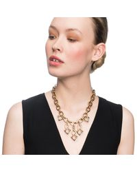 Lulu Frost - Metallic Lf X Brides Everlasting Necklace - Lyst
