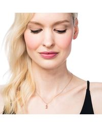 Lulu Frost - Metallic Code Number Necklace - 14k Gold - Lyst