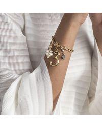 Lulu Frost - Metallic Plaza Electra & Oleader Pearl Charm Bracelet - Lyst