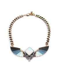 Lulu Frost - Blue Horizon Statement Necklace - Lyst
