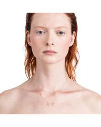 Lulu Frost - Pink Zodiacs Scorpio + Water Necklace - Lyst