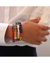 Lulu Frost - Multicolor Vintage Bale Beaded Bracelet - Lyst