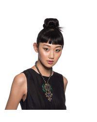 Lulu Frost - Black *vintage* 50 Year Necklace 1 - Lyst