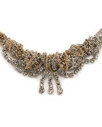 Lulu Frost - Metallic Mezze Necklace - Lyst