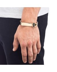 Lulu Frost - Metallic George Frost Bond Cuff - Justice for Men - Lyst