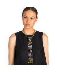 Lulu Frost - Black Josephine Sequin Bib Necklace - Lyst