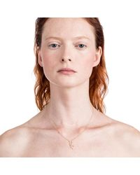 Lulu Frost - Pink Zodiacs Taurus + Earth Necklace - Lyst