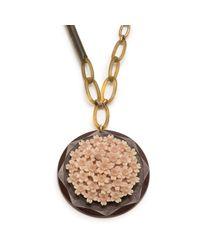 Lulu Frost - Metallic *vintage* Long One-point Necklace 3 - Lyst