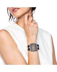 Lulu Frost - Metallic Larkspur Bracelet Black - Lyst