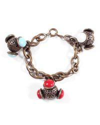 Lulu Frost | Metallic *vintage* Charm Bracelet #6 | Lyst