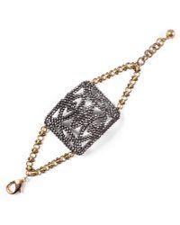 Lulu Frost - Multicolor *vintage* Cut-steel Bracelet #2 - Lyst