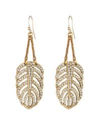 Lulu Frost | Metallic Goldtone Drift Earring - Small | Lyst