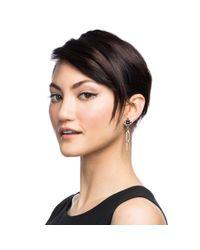 Lulu Frost | Black Veruschka Earring | Lyst