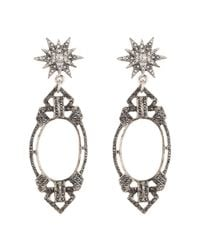 Lulu Frost | Metallic Lf X Brides Forever Statement Earring | Lyst