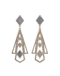 Lulu Frost | Metallic Odeon Statement Earring | Lyst