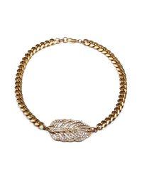 Lulu Frost | Metallic Goldtone Drift Necklace | Lyst
