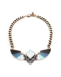 Lulu Frost | Blue Horizon Necklace | Lyst