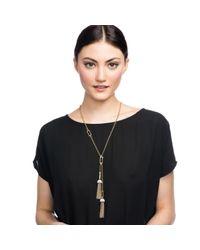 Lulu Frost - Metallic Ursula Tassel Necklace - Lyst