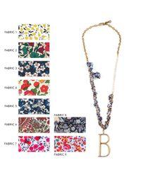 Lulu Frost - Multicolor Liberty London X Lulu Plaza Woven Pearl Necklace - Lyst