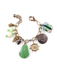 Lulu Frost - Multicolor *vintage* One-of-a-kind Charm Bracelet 1 - Lyst