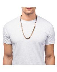Lulu Frost | Multicolor Bullion 50/50 Necklace for Men | Lyst