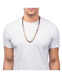 Lulu Frost - Multicolor George Frost Nox Horsehair 50/50 Necklace - Brown for Men - Lyst