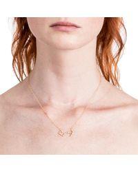 Lulu Frost - Multicolor Zodiacs 14k & Diamond Scorpio + Water Necklace - Lyst