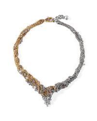 Lulu Frost - Metallic *vintage* G&s Mezze Necklace - Lyst