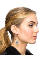 Lulu Frost - Metallic Radiant Earring - Lyst