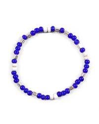 Lulu Frost - Blue George Frost Fes ''cool'' Morse Bracelet for Men - Lyst