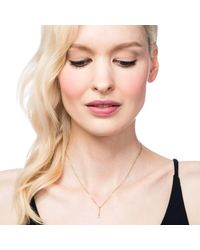 Lulu Frost - Multicolor Code Exclamation Necklace 18k Gold & Diamond - Lyst