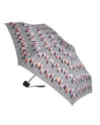 Lulu Guinness | Multicolor Vertical Lipstick Print Tiny Umbrella | Lyst