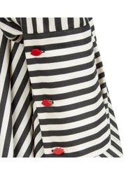 Lulu Guinness Multicolor Stripe Darcy Dress