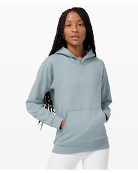 lululemon athletica Blue All Yours Hoodie Terry
