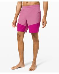 "lululemon athletica Pink Train To Beach Short 8"" for men"