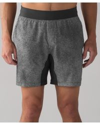 """lululemon athletica Gray T.h.e. Short 7"""" for men"""