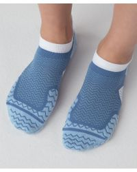 lululemon athletica Blue Speed Sock