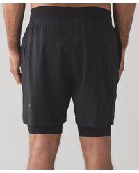 """lululemon athletica Black T.h.e. Short 7"""" for men"""
